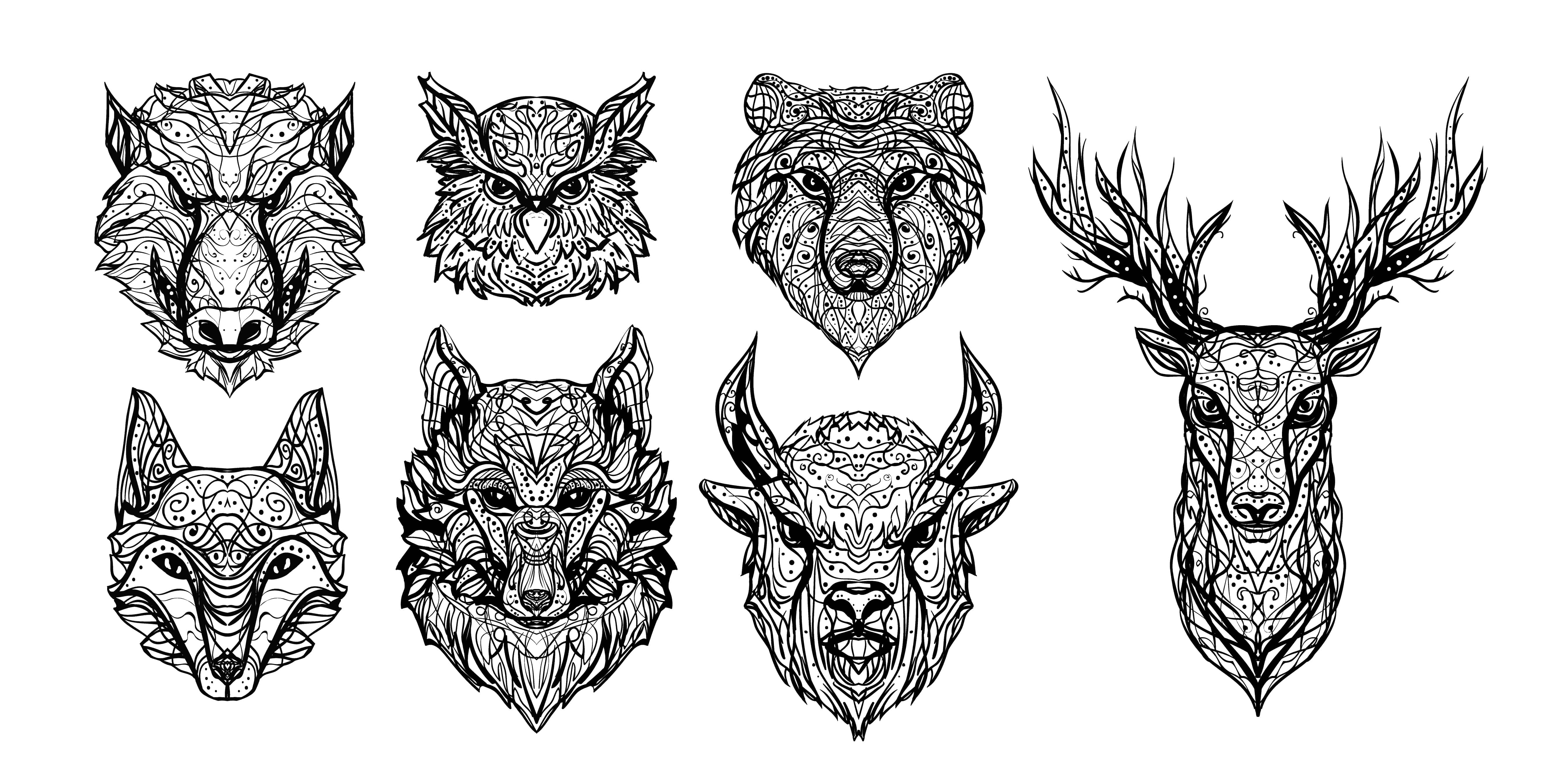 Awesome Animal Tattoos For Guys Ideas And Motifs Bad Habits Tattoos