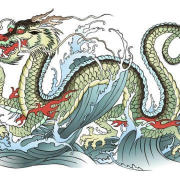 chinese vs japanese dragon