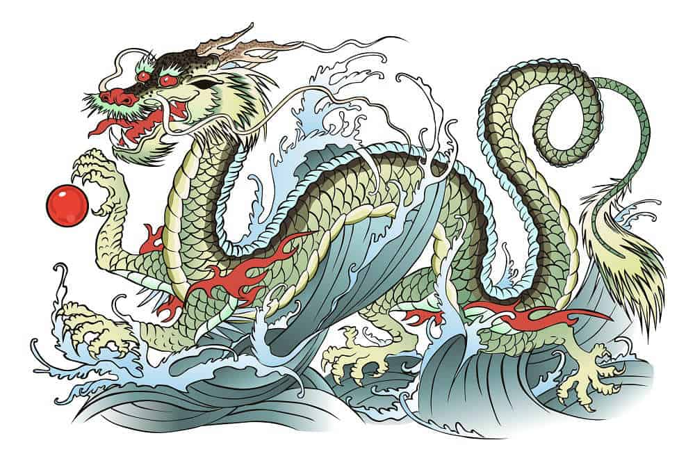 e8536698df566 Chinese vs. Japanese Dragon Tattoos - Styles and Meanings | Bad ...