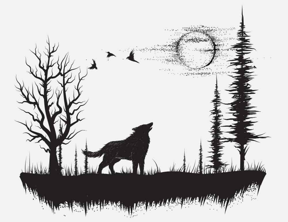 Wolf Tattoos Designs and Styles For Men