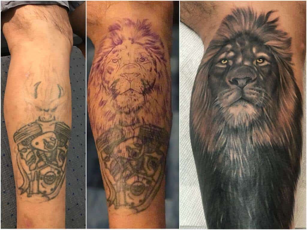 Best Cover Up Tattoo Artists In Fort Lauderdale Bad Habits