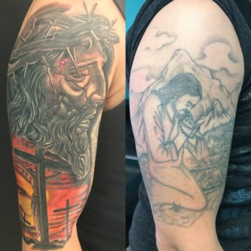 Cover Up Tattoo Religious