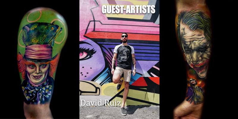 guest-artists David Ruiz
